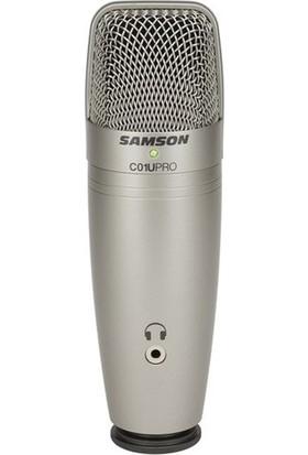 Samson C01U Pro Usb Studio Condenser Microphone Mikrofon