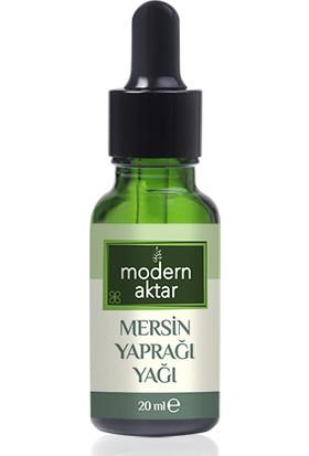 Modern Aktar Doğal Mersin Yaprağı Yağı 20 ml