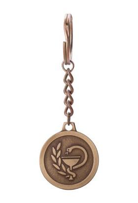Anı Yüzük Eczacılık Logolu Anahtarlık