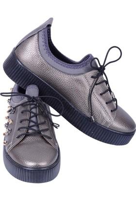 Cudo 210-2005 Platin Kadın Ayakkabı