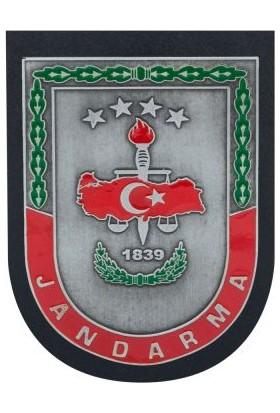 Anı Yüzük Gümüş Renk Jandarma Kemer Rozeti