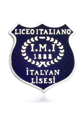 Anı Yüzük Liceo İtaliano İtalyan Lisesi Yaka Rozeti