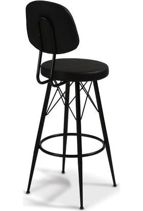 Sandalye Keyfi Eyfel Sırtlı Bar Taburesi