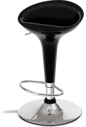 Sandalye Keyfi Siyah Lara Bar Taburesi