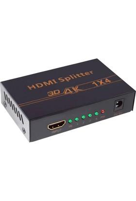 HDMI 4 Port Splitter 4K 30 fps Full HD 120fps Görüntü Çoklayıcı 4K104