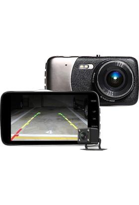 Novatek 4 inç IPS Ekran NT83D +32GB Hafıza Türkçe Full HD Araç Kamera