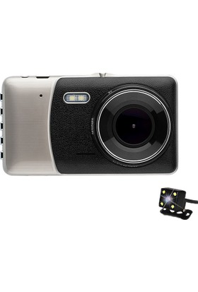 Novatek 4 inç IPS Ekran NT83D +16GB Hafıza Türkçe Full HD Araç Kamera