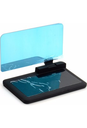 HUD H6 6 İnç Head Up Display Cep Telefonu Navigasyon Ön Cam Yansıtma