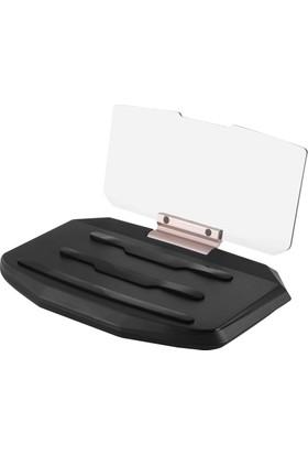HUD H5 6 İnç Head Up Display Cep Telefonu Navigasyon Ön Cam Yansıtma