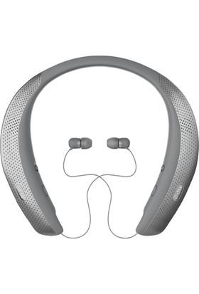 LG HBS-W120 Tone Studio Kablosuz Bluetooth - Hoparlörlü Gri Kulaklık
