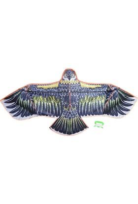 Toyspazar Fiberglass 3D Kartal Eagle Kuş Desenli Uçurtma 180 cm