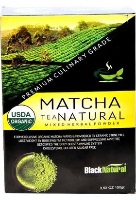 Black Natural Matcha Natural Çayı 100 gr
