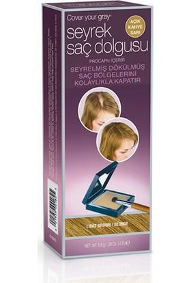 Cover Your Gray Seyrek Saç Dolgusu (Açık Kahve Sarı)