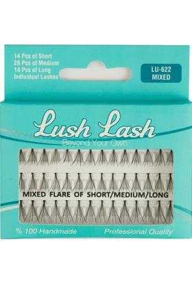Lush Lash Takma Kirpik Karışık Kısa Orta Uzun