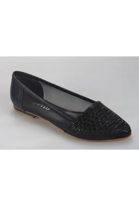 Oflaz Caprito 209 Kadın Taşlı Babet Ayakkabı