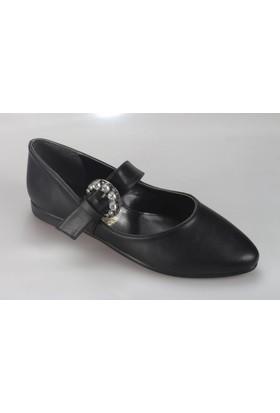 Oflaz Caprito 822 Kadın Taşlı Babet Ayakkabı