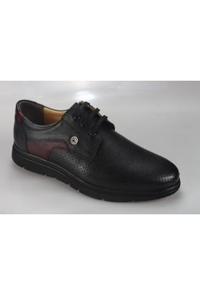Suat Baysal Salur 4020-2 Erkek Deri Zımbalı Günlük Ayakkabı