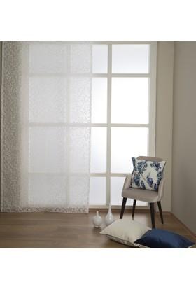 Premier Home Devore Burnout Tül Perde Beyaz 140X270