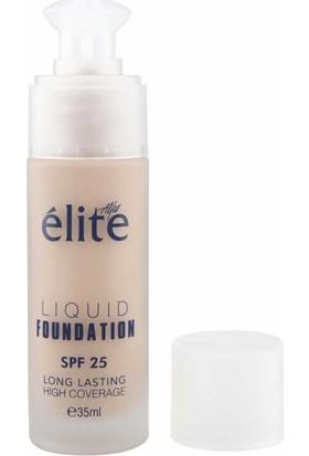 Elite Liquid Foundation - Likit Fondöten - 3090