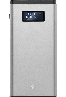 Ttec AlumiSlim LCD QC 3.0 10.000mAh Taşınabilir Şarj Aleti