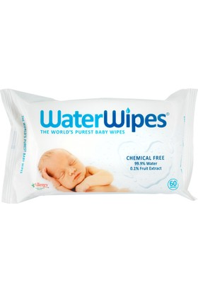 WaterWipes Doğal Islak Mendil 60 Adet
