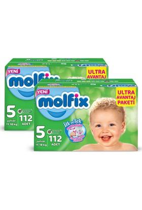 Molfix Bebek Bezi Comfort Fix Ultra Avantaj Paketi Junior 5 Beden 224 Adet