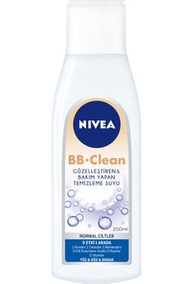 Nivea Bb Clean Yüz Temizleme Suyu Normal Cilt 200Ml