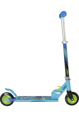 Sunman Evo Neon Renkli Yeni Nesil Frenli Çelik 2 Teker Scooter
