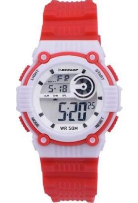 Dunlop Dun344G04 Kırmızı Işıklı Dijital Çocuk Kol Saati