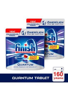 Finish Bulaşık Makinesi Deterjanı Quantum 160 Tablet / 80x2