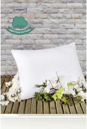 Recycle Pamuk Yastık 50 x 70 cm Beyaz