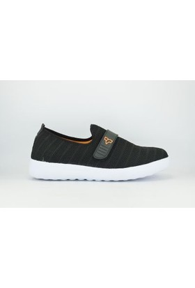 Tiffany&Tomato 8113516M Merdane Triko Poli Cırtlı Erkek Spor Ayakkabı Siyah