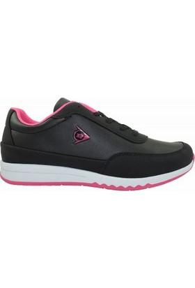 Dunlop 722504Z Bağcıklı Kadın Spor Ayakkabı Siyah