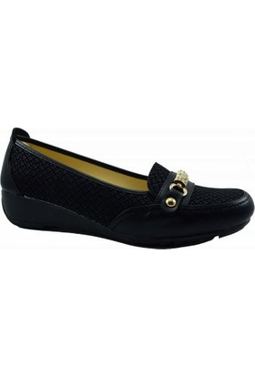 Merry Pace 444Ft410 Düz Kadın Ayakkabı Siyah