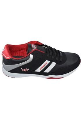 Wickers 1004 Bağcıklı Erkek Spor Ayakkabı Kırmızı