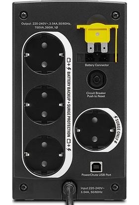 APC BX700U-Gr Back-Ups 700Va 230V Schuko Soket