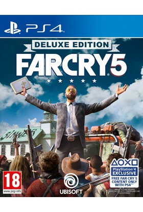 Far Cry 5 Deluxe Edıtıon Ps4 2.Bölge Pal Versiyon