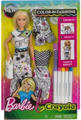 Barbie İle Kıyafet Tasarla Oyun Seti