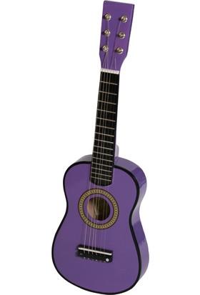 Akustik Mini Çocuk Gitarı Mor - EU55PR