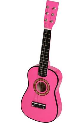 Akustik Mini Çocuk Gitarı Pembe - EU55PNK