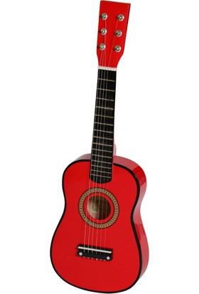 Akustik Mini Çocuk Gitarı Kırmızı - EU55R