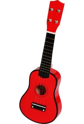 Mini Çocuk Gitarı Kırmızı - EU53R