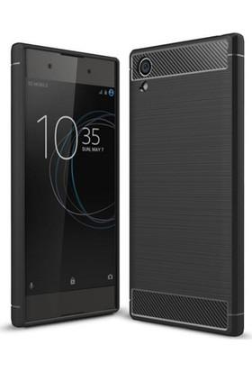 Case 4U Sony Xperia XA1 Plus Kılıf Korumalı Arka Kapak Room Siyah