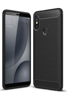 Case 4U Xiaomi Redmi Note 5 Pro Kılıf Korumalı Arka Kapak Room Siyah