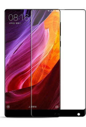Case 4u Xiaomi Mi Mix 2 Tam Kaplayan Ekran Koruyucu - Nano Fiber - Siyah