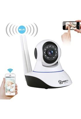 Dextel - Hobimtek 360º Gerçek Hd Wifi Kablosuz Ip Kamera Bebek Kamerası