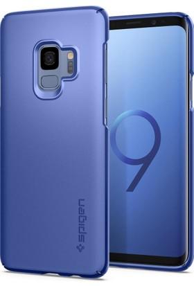 Spigen Samsung Galaxy S9 Kılıf Thin Fit Coral Blue - 592CS22822