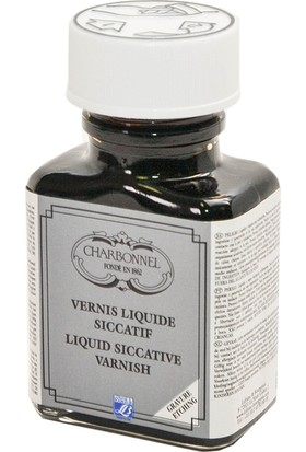 Charbonnel Liquid Siccative Varnish - Sıvı Kurutucu Vernik 75ml