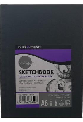 Daler Rowney Simply Sketchbook 10.5x14.8cm 100gr. 110 Yaprak