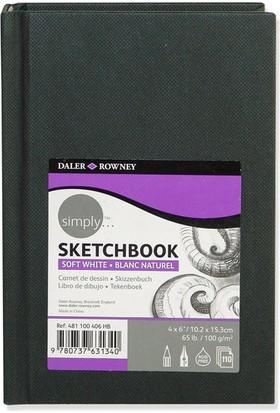 Daler Rowney Simply Sketchbook 10.2x15.3cm 100gr.
